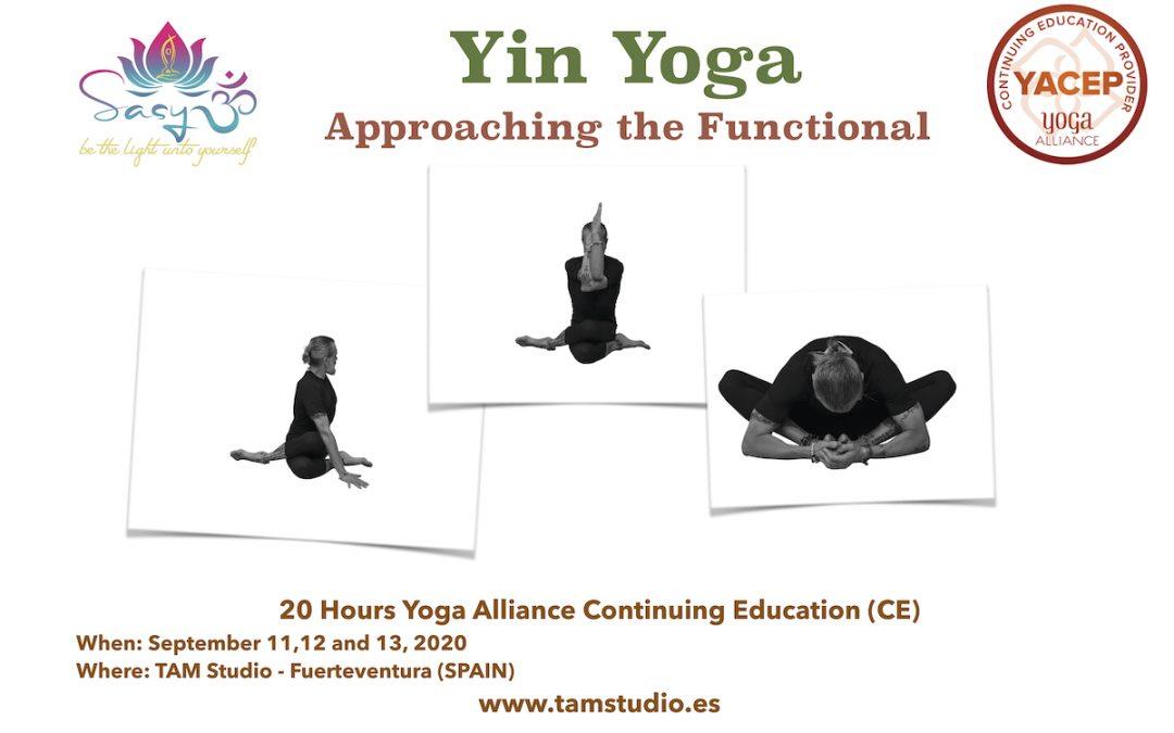 Yin Yoga Course. Approaching the Functional.