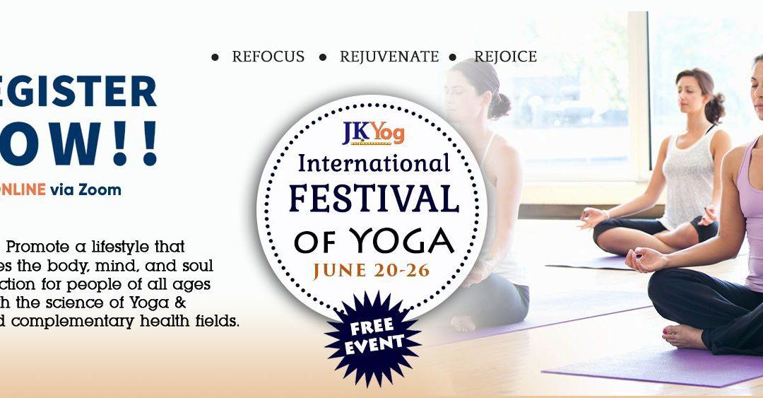 International Yoga Festival in Dallas (Virtual Event)