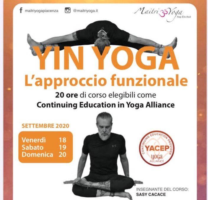 Yin Yoga. L'Approccio Funzionale.